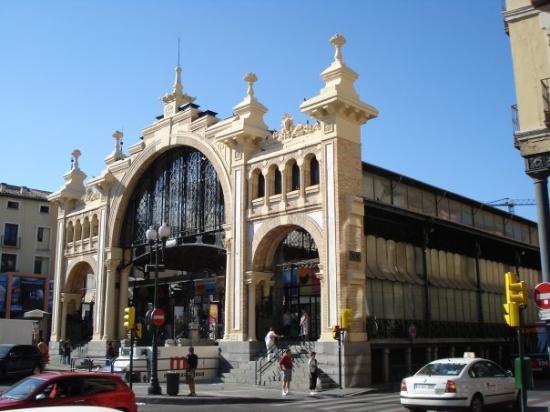 ซาราโกซา, สเปน: Famous market