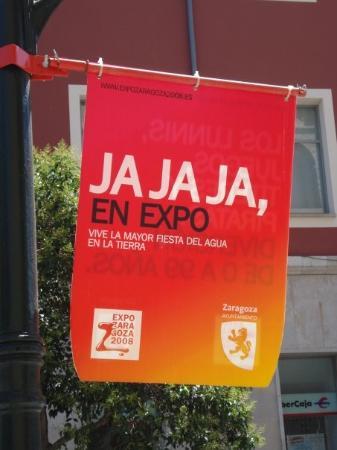 ซาราโกซา, สเปน: The world Expo was in Zaragoza in 2008