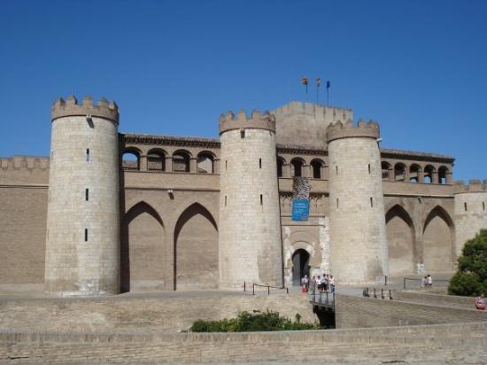 ซาราโกซา, สเปน: Castle were I went to