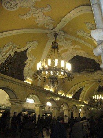 มอสโก, รัสเซีย: Metro