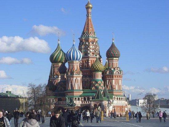 มอสโก, รัสเซีย: Moszkva, Vörös tér, Vaszilij Blazsennij