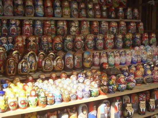 มอสโก, รัสเซีย: Moszkva, piac