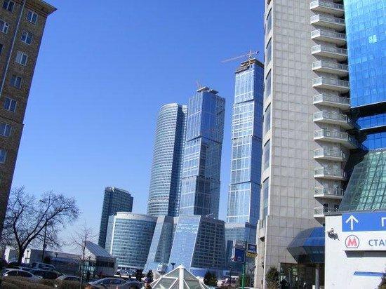 มอสโก, รัสเซีย: Moszkva - épülő üzleti negyed