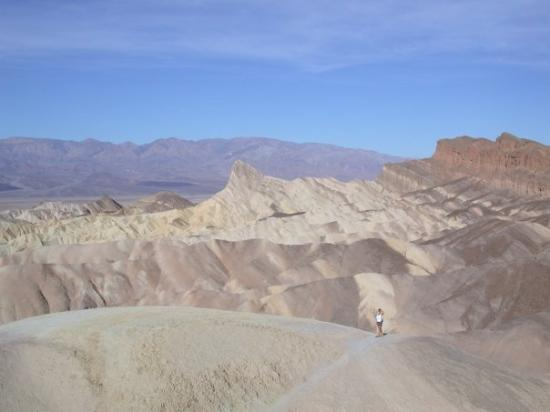 Der Zabriskie Point im Death Valley National Park
