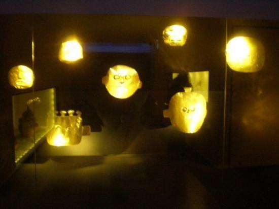 โบโกตา, โคลอมเบีย: museo del oro
