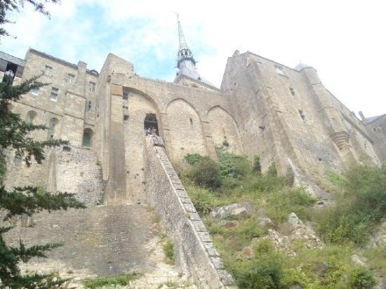 Mont-Saint-Michel, ฝรั่งเศส: Beau temps au Mont Saint Michel
