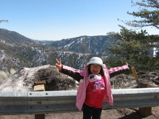 Big Bear Lake: Anissa in Big Bear!!!
