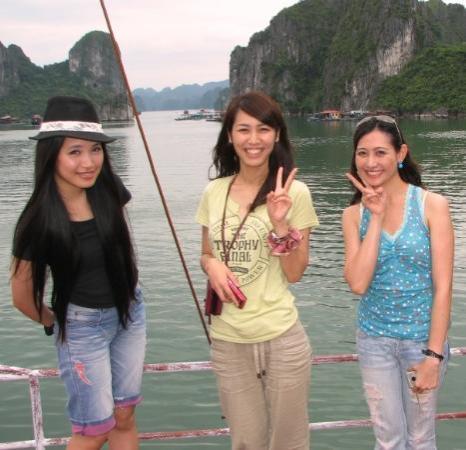 ฮาลองเบย์, เวียดนาม: Beautiful scenery in Ha Long Bay