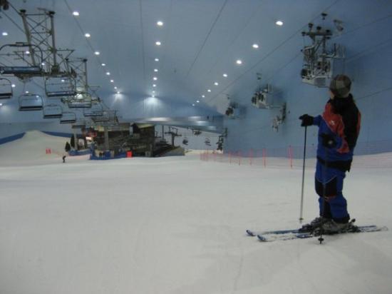 อาบูดาบี, สหรัฐอาหรับเอมิเรตส์: Ski Dubai...cute hillock hey?