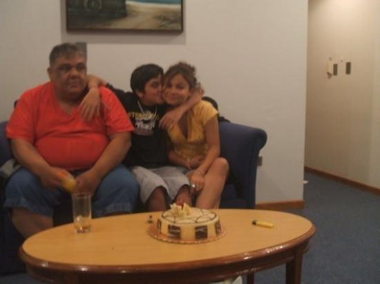 การากัส, เวเนซุเอลา: en el hotel de caracas el dia de mi cumple