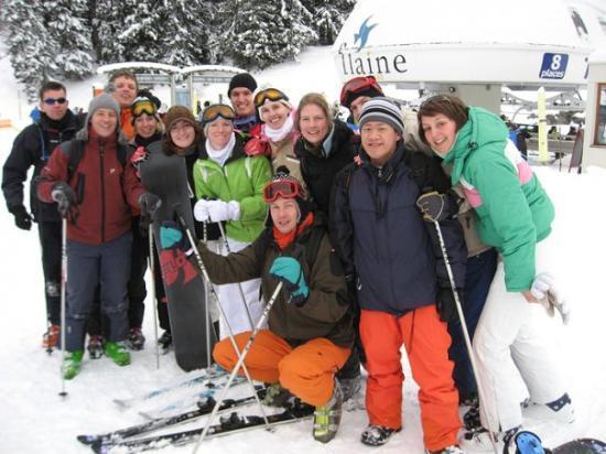 Le Jaillet Ski Area ภาพถ่าย