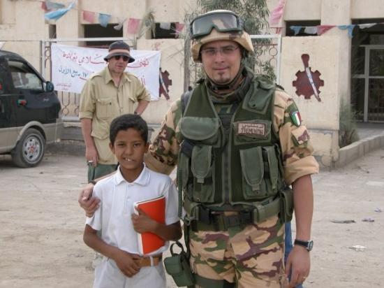 "OPERAZIONE ""ANTICA BABILONIA"" - IRAQ 28 APRILE 2004 - 22 AGOSTO 2004  AN NASIRIYAH"