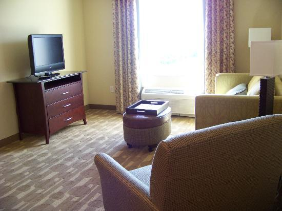Homewood Suites by Hilton Lake Buena Vista-Orlando: Livng room
