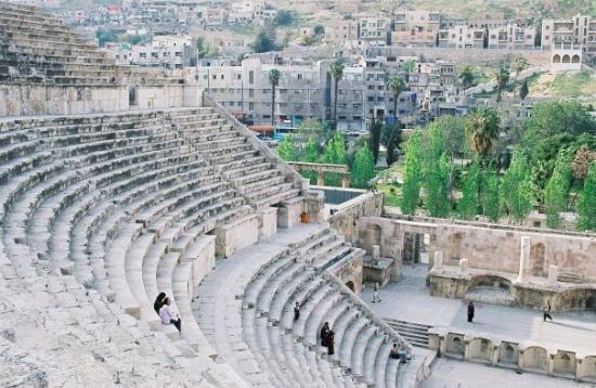 อัมมาน, จอร์แดน: Amman - le Théâtre antique