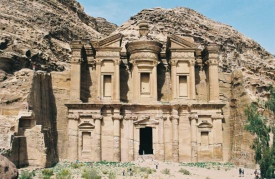 """อัมมาน, จอร์แดน: Petra - Al Deir (""""Le Monastère"""")"""