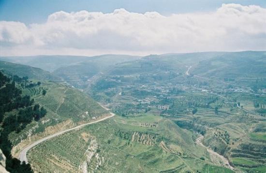 อัมมาน, จอร์แดน: Le château de Kerak, la vue...