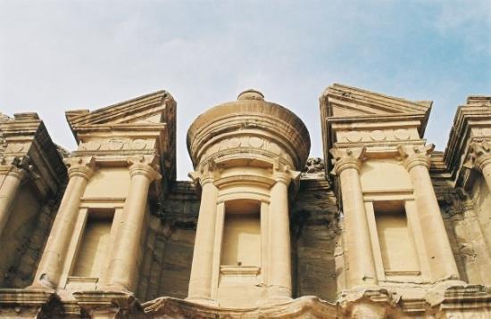 """อัมมาน, จอร์แดน: Petra - Al Deir (""""Le Monastère"""") - 50 mètres de hauteur"""