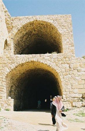 Amman, Jordanien: Le château de Kerak, vestige des croisades