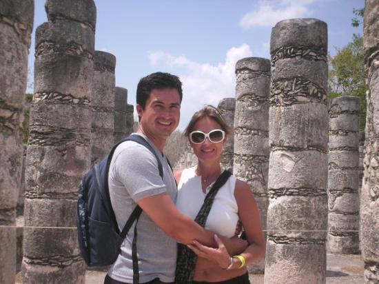 Chichen Itza, เม็กซิโก: Noi due!!
