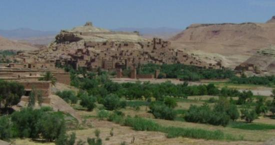 View to Ait Ben Haddou