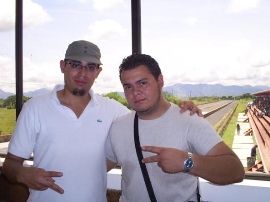 Con Ivan en San Miguel - El Salvador.