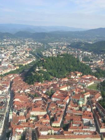 แกรซ, ออสเตรีย: Survol du Slossberg (Graz)