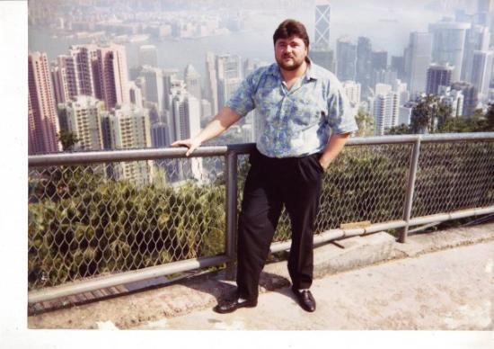 รถราง พีคทราม: Victoria Peak, Hongkong, 1991