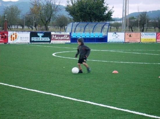 Calas de Majorca, สเปน: mi maradona!!