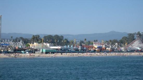 Santa Cruz Main Beach ภาพถ่าย