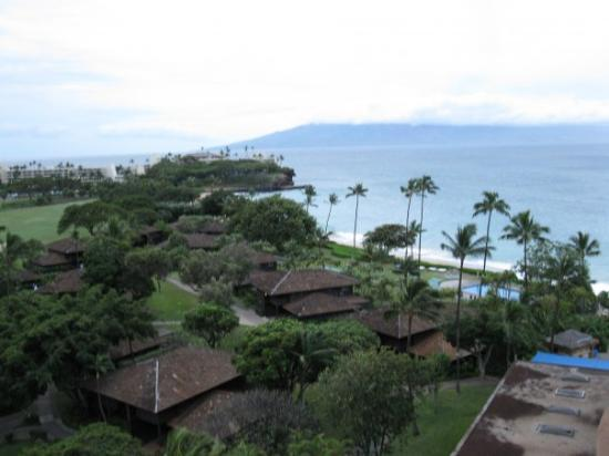 เมาอิ, ฮาวาย: View from our hotel in Maui