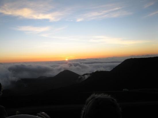 เมาอิ, ฮาวาย: Sunrise on Mount Haleakala