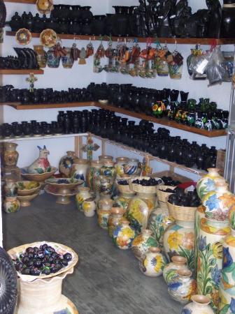 โออาซากา, เม็กซิโก: Barro negro Oaxaqueño.- Descubierto por Doña Rosa
