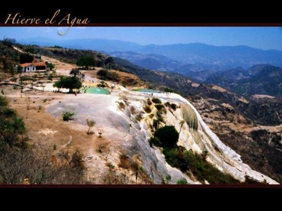 โออาซากา, เม็กซิโก: Hierve el agua.- Lugar donde se produce Agua Mineral