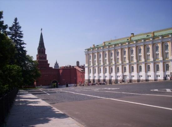 มอสโก, รัสเซีย: il cremlino di dentro