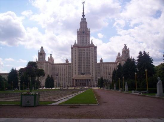 มอสโก, รัสเซีย: l'università lomonosov di mosca