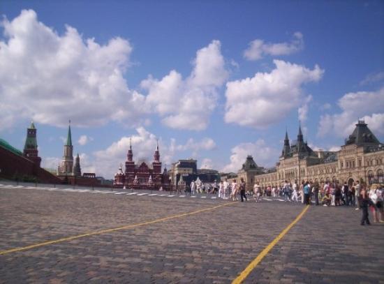 มอสโก, รัสเซีย: piazza rossa