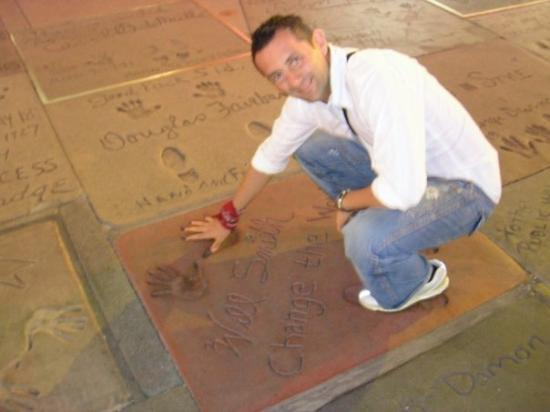 Hollywood Walk of Fame: Che manine piccine Will Smith!