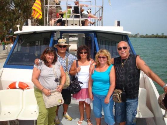 ซาลู, สเปน: petite ballade en bateau