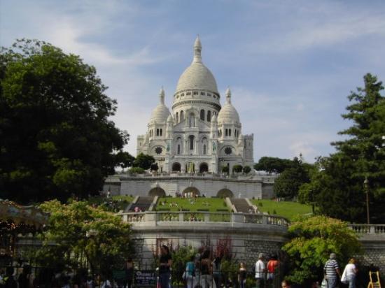 ซาเคร็ดฮาร์ทบาซิลิกาแฟมอนมารทร์: La basilique du Sacré-Coeur de Montmartre..bellissima :D