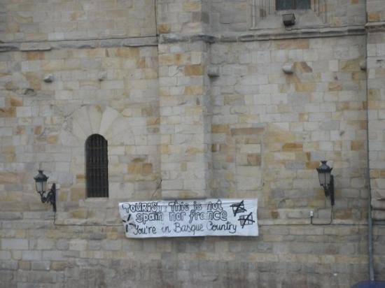 บิลบาว, สเปน: turisti questa non è la spagna o la francia sono i paesi baschi !