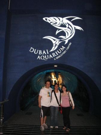 The Dubai Mall: The Aquarium was fun!