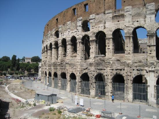 Colosseum B: The view from the hotel