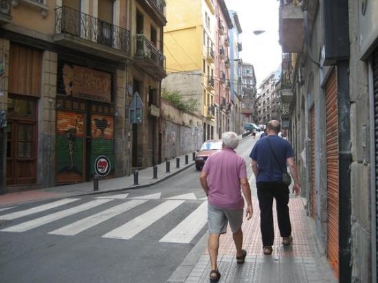 บิลบาว, สเปน: per le strade di Bilbao