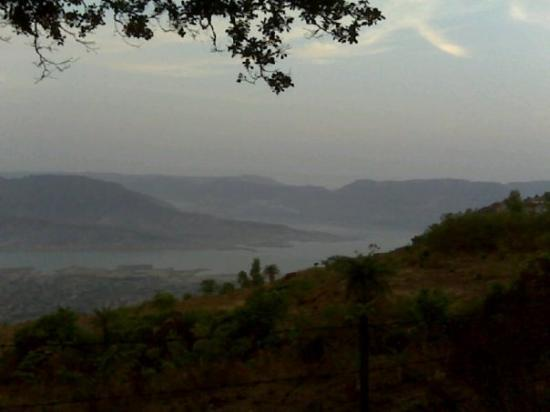 Panchgani, Inde : Break of dawn in the sahiyadris