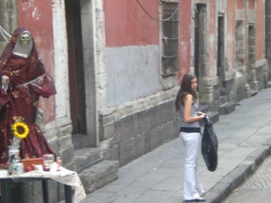 เม็กซิโกซิตี, เม็กซิโก: Même pas peur de la dame!!!
