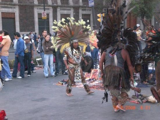 เม็กซิโกซิตี, เม็กซิโก: Les Zindiens!Et des vrais!!!