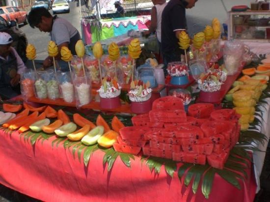 เม็กซิโกซิตี, เม็กซิโก: Et les fruits...délicieux!