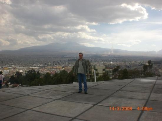 โตลูกา, เม็กซิโก: Vue du parc de l'Université de Toluca