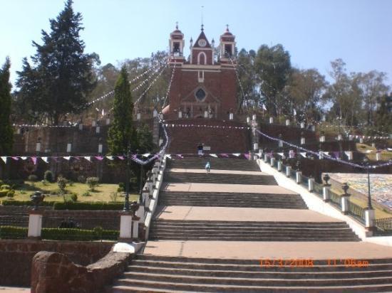Eglise de Metepec pres de Toluca.