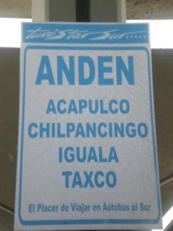 อะคาปูลโก, เม็กซิโก: En route pour la côte
